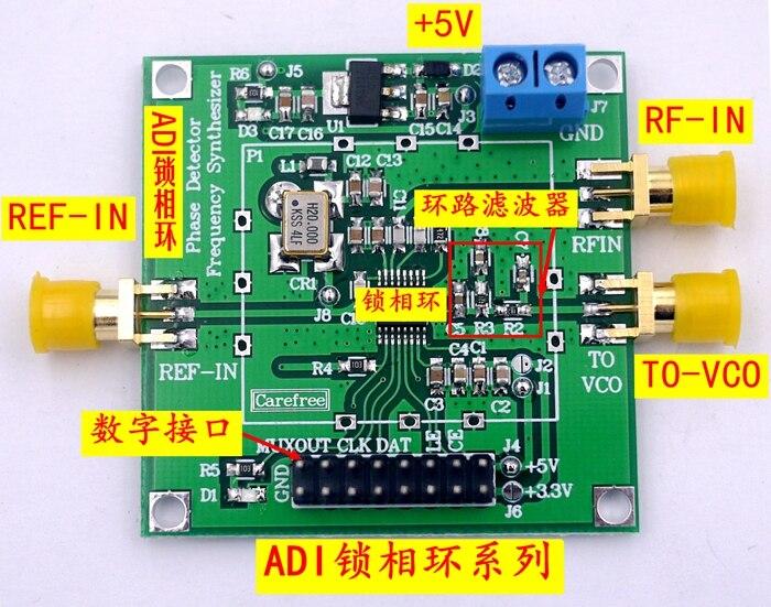ADF4153 ADF4156 décimale n-fréquence Division fréquence synthétiseur RF oscillateur Local Modem 6 GHZ
