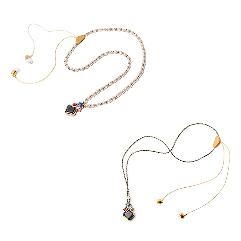 New Wireless Stereo Necklace Bluetooth Headset Earphone With Mic Handsfree for iPhone 6S Plus Samsung S7 high quality 2016 universal wireless bluetooth headset handsfree earphone for iphone samsung jun22
