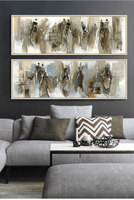 Modern abstract oil painting canvas pictures for living room cuadros home decor duvar tablolar wall art African woman room Decor