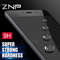 ZNP Tempered Glass For Xiaomi Redmi Note 4 4X Redmi Note 4 Pro Note 4X Global Version Screen Protector Toughened Full Cover Film