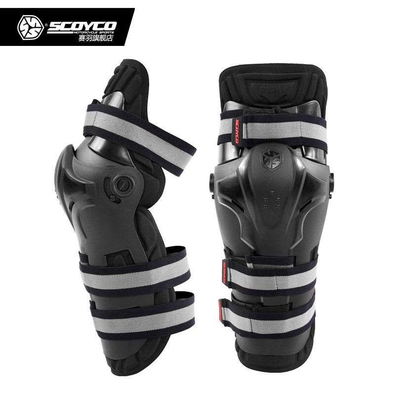 Authentic SCOYCO Motorcycle Riding Knee Windproof Earthquake Locomotive Leggings Safety Gauges K19