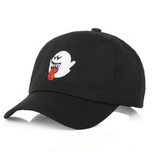 Cartoon Embroidery Snapback Baseball Cap for Men Women ICON Cotton Dad Hat Hip Hop Casual Caps Women Black Hat for Girls(China)