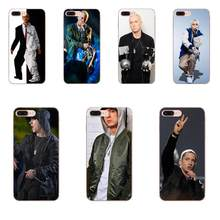 Super Rap Singer Eminem Signed For Galaxy A3 A5 A7 A8 A9 A9S On5 On7 Plus Pro Star 2015 2016 2017 2018 Silicone Case(China)