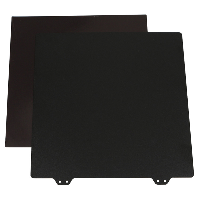 Image 2 - 3D Printer Hot Bed Accessories 220Mm Double Layer Texture Pei Powder Steel Plate + Magnetic Sticker B Surface For Anet A8 A6 W-in 3D Printer Parts & Accessories from Computer & Office