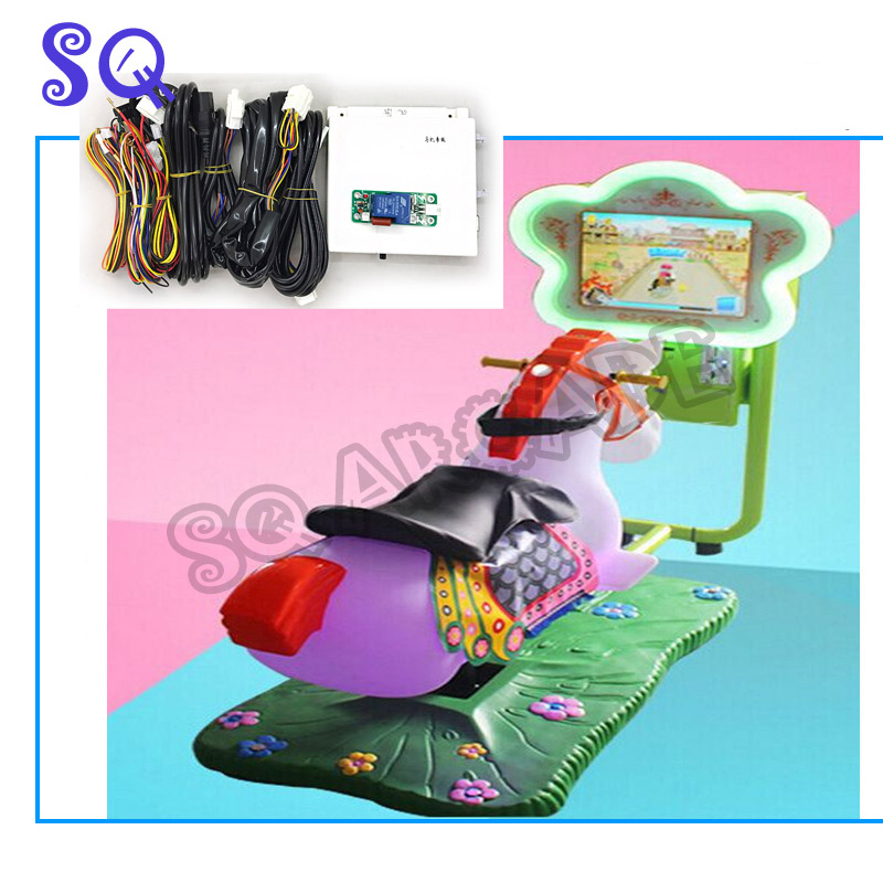 Main board with cables for Video Racing Horse Kiddie Rides Arcade Game Machine