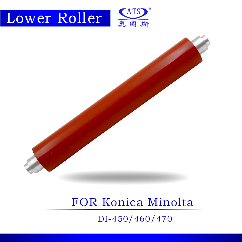 DI450 DI470 DI450 Photocopy Machine Lower Fuser Roller For Konica Minolta DI 460 470 450 Copier Parts Pressure Roller high quality photocopy machine second hand transfer unit for minolta di163 copier parts di 163