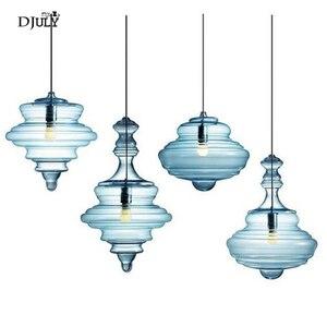 Image 1 - נורדי בצורת דלעת מוכתם זכוכית תליון אורות סלון חדר אוכל חדר מטבח led luminaire לופט דקור גופי תאורה