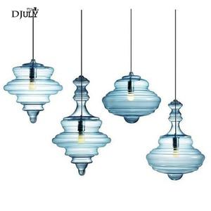 Image 1 - Lampe led suspendue en verre en forme de gourde, design nordique, luminaire décoratif dintérieur, idéal pour un loft, un salon, une salle à manger ou une cuisine