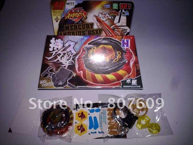 2011 hot sale 6 Styles 4D Top Clash Metal Beyblade, Spinning Tops Toys bb105 bb108 bb109 bb111 bb114