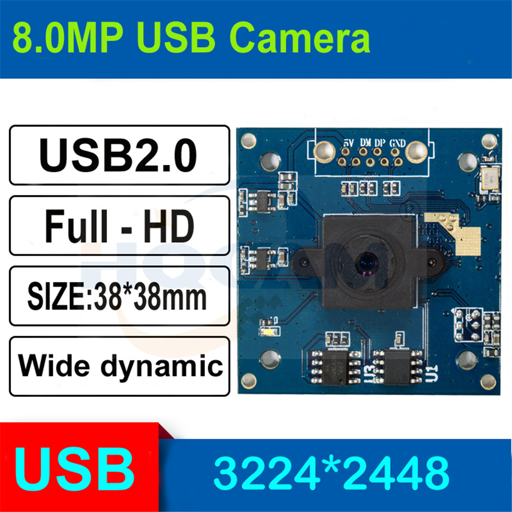 HQCAM 8.0megapixel 1/3.2 inch Low illumination 0.01Lux CMOS Module Board 8MP 90 Degree Usb Camera biometrics  micro mini USB2.0 HQCAM 8.0megapixel 1/3.2 inch Low illumination 0.01Lux CMOS Module Board 8MP 90 Degree Usb Camera biometrics  micro mini USB2.0