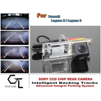 For Renault Laguna 2 / Laguna 3 2007 ~ 2015 Smart Backing Tracks Camera / CCD Night Vision / Rear View Parking Reverse Camera