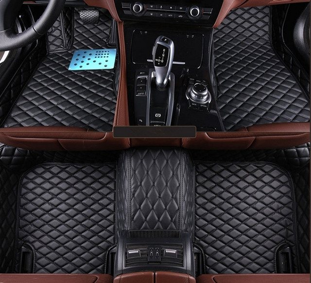 bon tapis personnalis sp cial de voiture tapis de sol pour ford kuga 2018 2013 tanche voiture. Black Bedroom Furniture Sets. Home Design Ideas