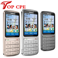 Восстановленное NOKIA C3-01 Разблокирована 3 Г, GSM, WIFI, Bluetooth, JAVA, 5MP Камера C3-01 Мобильный Телефон Бесплатно доставка! русская клавиатура
