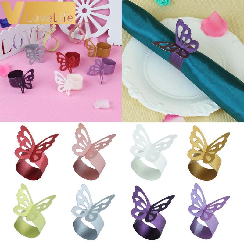 unidslote mariposa de papel para bodas partido eventos artculos de mesa ramo