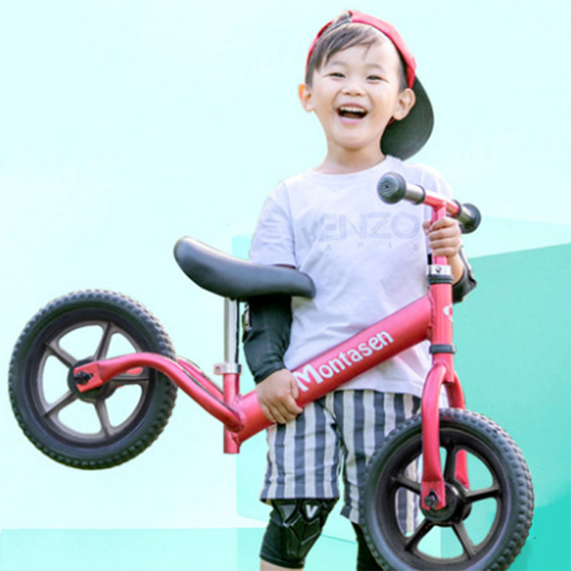 Children's Balance Car Without Pedal Two Rounds 1-3 Years Old Baby Scooter Slide Car Bike Yo Car