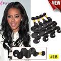 7A Brazilian Body Wave 4pcs Human Hair Mink Brazilian Virgin Hair Body Wave Meches Bresilienne Lots Brazilian Hair Weave Bundles