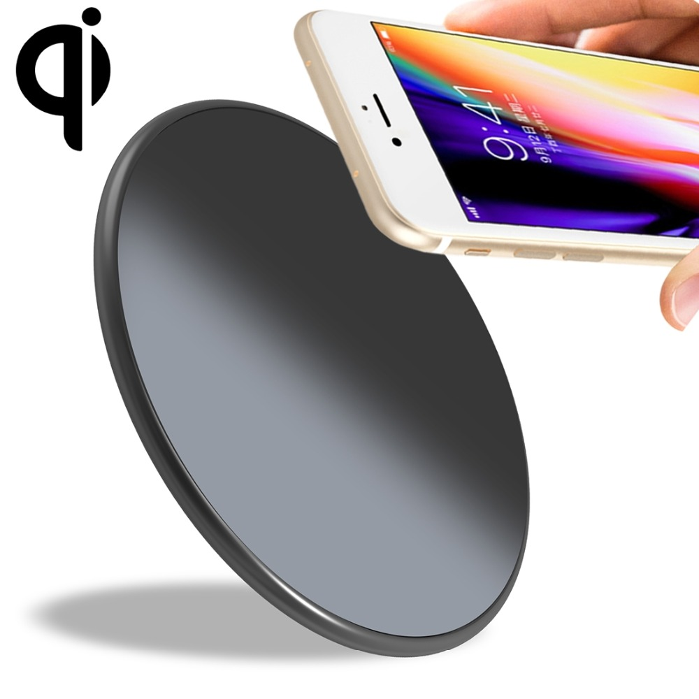 Qi Standard UMIDIGI Q1 10W Fast Charging Qi Wireless Charger for iPhone for Galaxy for Huawei for Xiaomi Smartphone