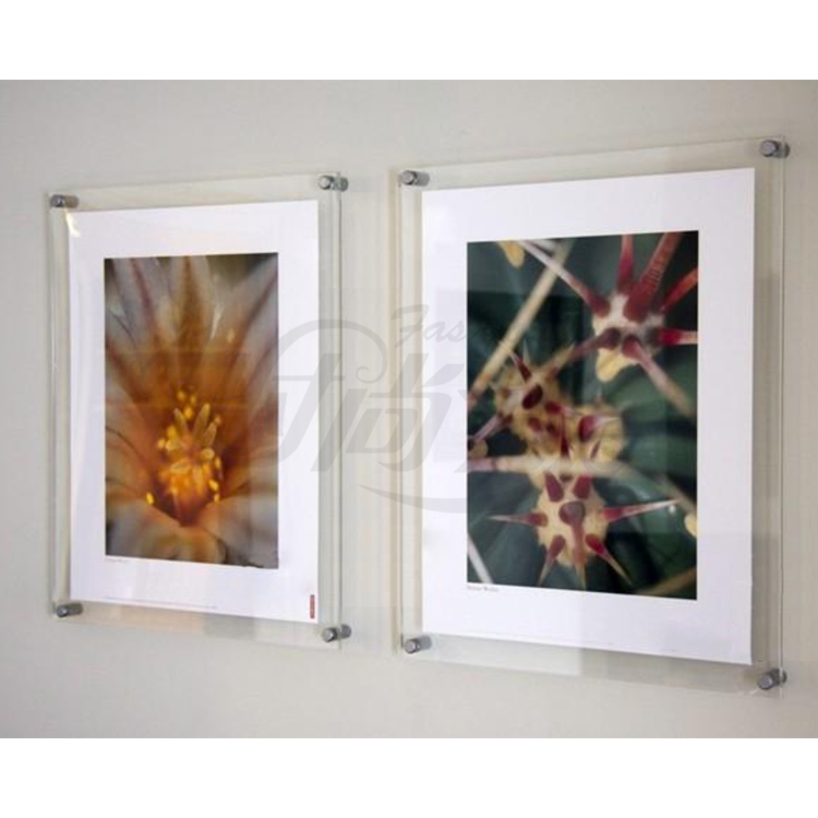10 unitlot wall mounted a4 acrylic plexiglass poster frames perspex floating