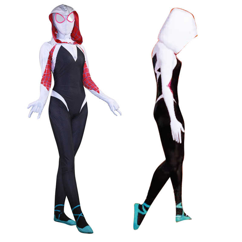 3D Digital Printing Women's Venom Cloak Big Spiderwoman Tights Spiderman Playing costume Lycra New Product Superhero BOOCRE