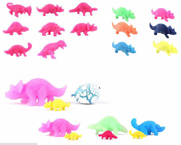 US $1 09 |TOBEFU 6pcs/lot Hatching Growing Dinosaur Eggs Cute Novelty Gag  Magic Surprise Eggs Toys For Kids Children Educational Play-in Gags &
