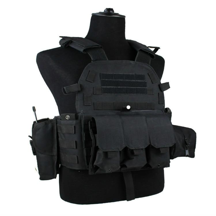 Tactical 6094 Vests Outdoor Hunting Vest Suit Military Men Clothes Army CS Equipment Accessories Airsoft Combat Training Vest