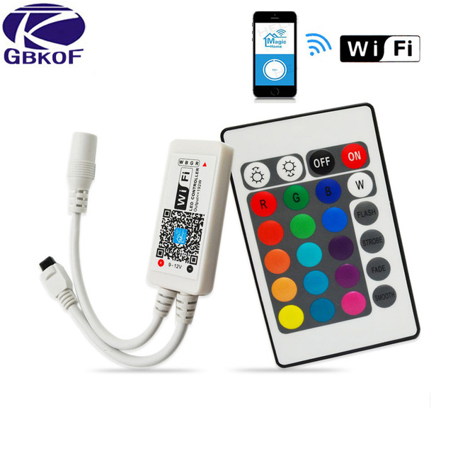 Smd Rgb Led Remote Controller Switch Wireless 24 44keys Music Touch Wifi For