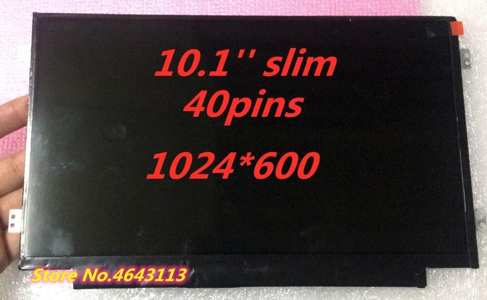 10,1 ''slim Matrix B101aw06 V.1 V.0 N101l6-l0d Ltn101nt08 Laptop Lcd Screen FÜr Samsung Nc110 Notebook Display 40pin