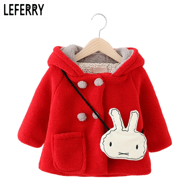 Cute Baby Jacket Girls Winter Coat Baby Girl Clothes -2471