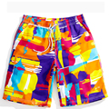Summer New Fashion Print Board Short Good Quality Couples Beach Shorts Loose Quick Dry beach Shorts Men