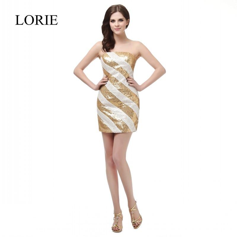Online Get Cheap White Strapless Short Prom Dress -Aliexpress.com ...