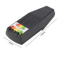 Detectores de Radiação Eletromagnética EMF Medidor Dosimeter Tester Portátil Mini LCD Digital para Pesquisa de Medida de Exposição Prejudicial