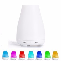 Ultrasonic Essential Oil Aroma Diffuser Aromatherapy Air Humidifier 7 Color Change Dry Protect Aroma Mist