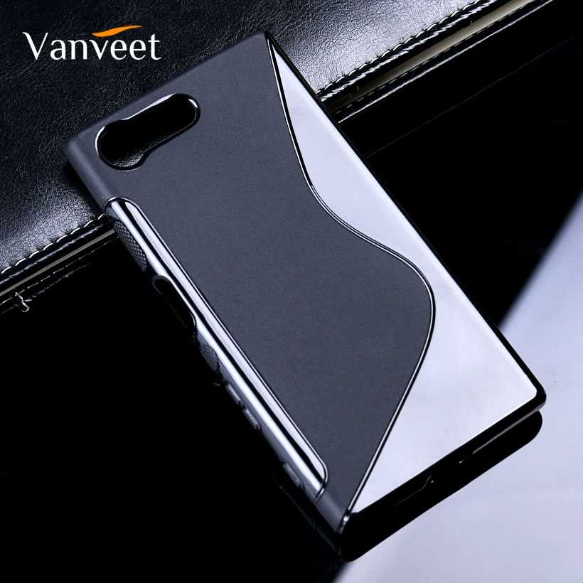 S-Line Soft TPU Case For Sony Xperia X Compact Case Sony X Mini PS30 F5321 F5122 XC F5121 Silicone SLine Black Phone Back Cover