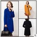 Манто femme 2017 шерстяная ткань кашемир пальто средней длины женские зимние пальто и куртки пальто MN-21