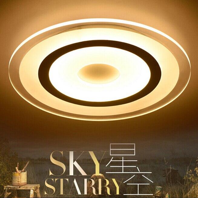 Módní oblačnosti stropní svítidlo 85-265V 12W 200mm led stropní lampa v obývacím pokoji