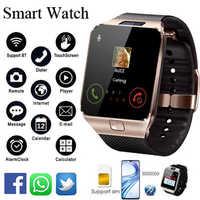 Bluetooth Smart Uhr DZ09 Smartwatch Android Anruf Verbinden Uhr Männer 2G GSM SIM TF Karte Kamera Für iPhone samsung HUAWEI