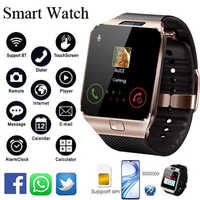 Reloj inteligente Bluetooth DZ09 reloj inteligente Android llamada telefónica conectar reloj hombres 2G GSM SIM tarjeta TF de cámara para iPhone Samsung HUAWEI