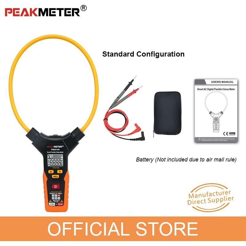 """OFICIALUS """"PEAKMETER PM2019S Smart AC"""" skaitmeninis lankstus - Matavimo prietaisai - Nuotrauka 6"""
