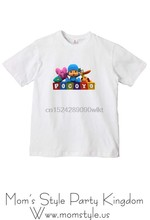 Pocoyo T-shirt Transferência de Ferro-on #2-020818(China)