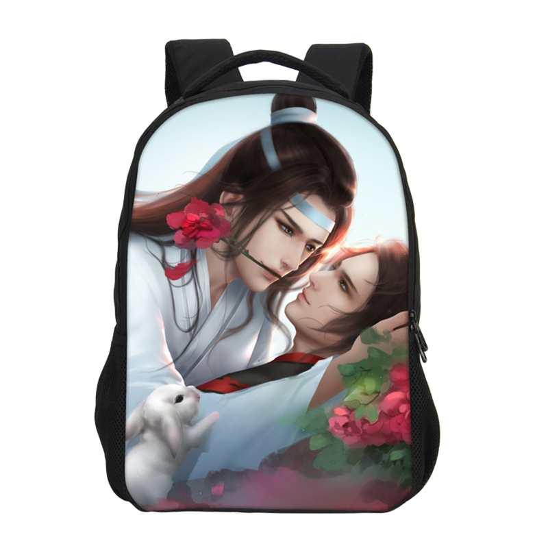 Teen Backpack Shoulder-Bag School Bookbag Anime Student Children Fashion Brand The Prints