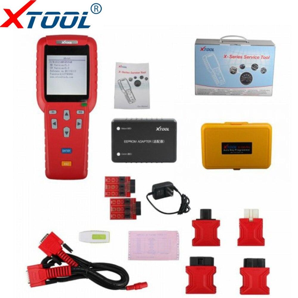 Оригинальный X100 Pro профессиональный ключ Авто автомобиль пройденное расстояние в милях программист инструмент настраиваемый счетчик OBD2 ECU