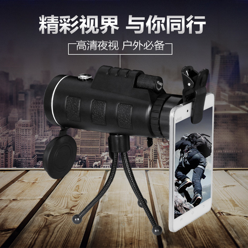 Universal 40X Optical Zoom Telescope Camera Lens Clip Mobile Phone Telescope For iPhone6 for Samsung for HTC for Huawei Xiaomi universal 30x optical zoom telescope camera lens clip mobile phone telescope for iphone7 for samsung for vivo for huawei xiaomi