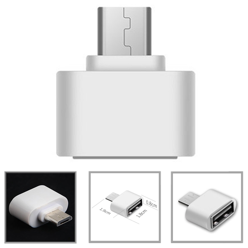 Micro USB OTG Converter Camera OTG Adapter For Android Phone For Samsung Cable Card Reader Flash Drive Type OTG