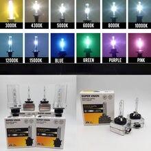 D1 D2 D3 D4 HID Lâmpada HID xenon lâmpada do farol do CBI D1S D2S D3S D4S D2C D1R D2R D3R D4R farol luz 4300K 6000K 8000K 10000K