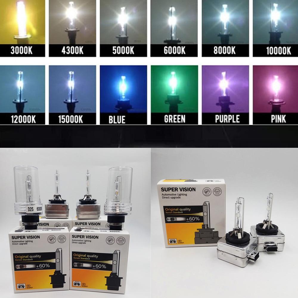 AUTO-DN Xenon HID Headlight D2S Factory OEM Replacement Bulbs 5K 6K 8K 10K 12K