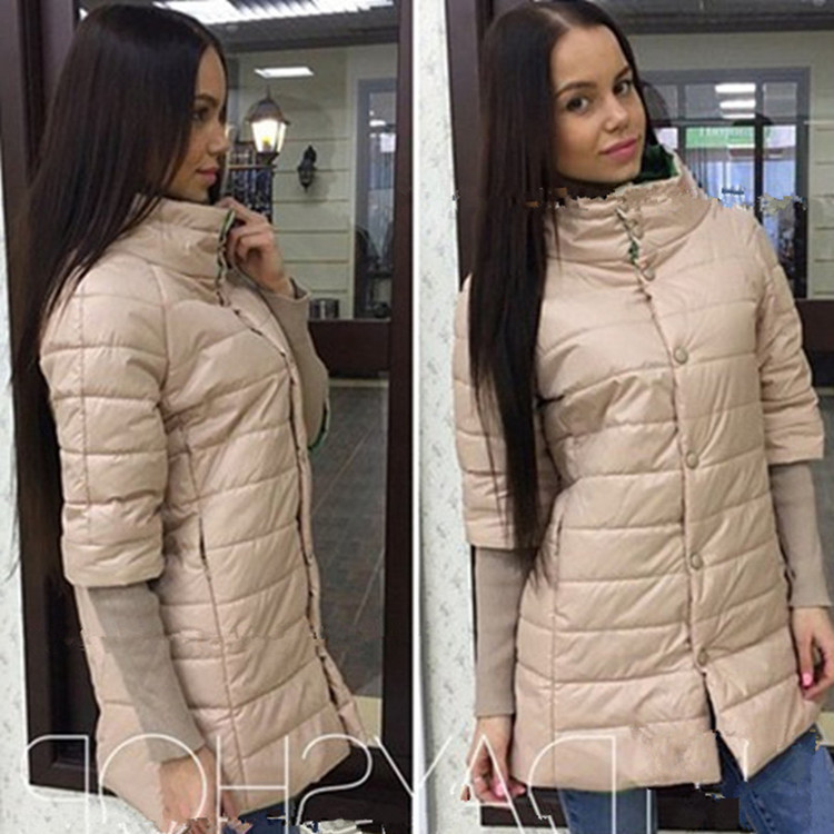 Europe Top Fashion Cotton And The Explosion Of 2016 Winter Fashion Slim Dress Warm Coat Jacket Good Quality Special Offer Sales textiles and dress of gujarat