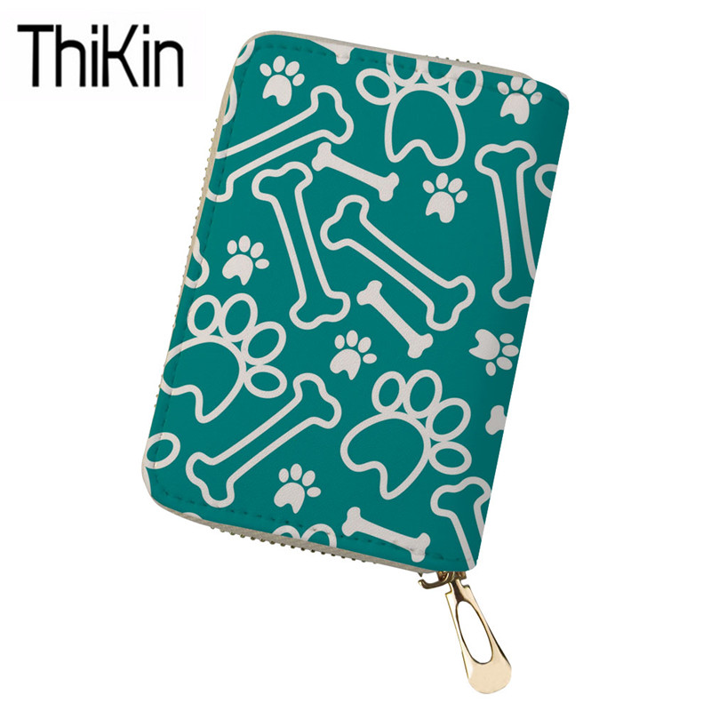 Thikin Womens Passport Covers Cute Corgi Printing Passport Holder Ladies Portable Card Holders For Females Passport Cases Bolsa Attractive And Durable Card & Id Holders