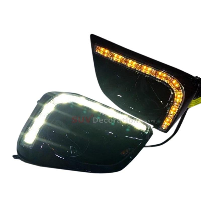 Здесь можно купить  For Toyota Vios LED Daytime Running Lights Day Fog light Lamp   Автомобили и Мотоциклы