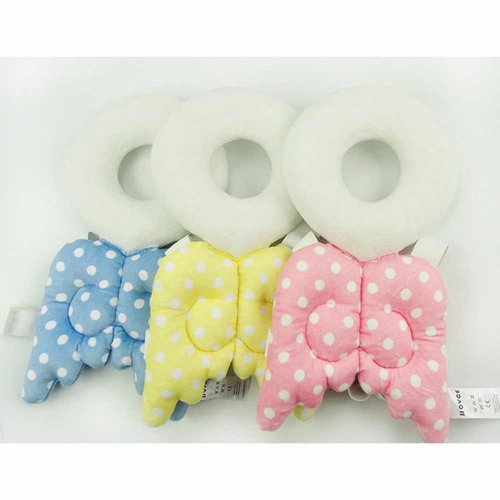Baby Head protection pad Toddler headrest pillow baby neck Cute wings nursing drop resistance cushion baby protect Hot Sale