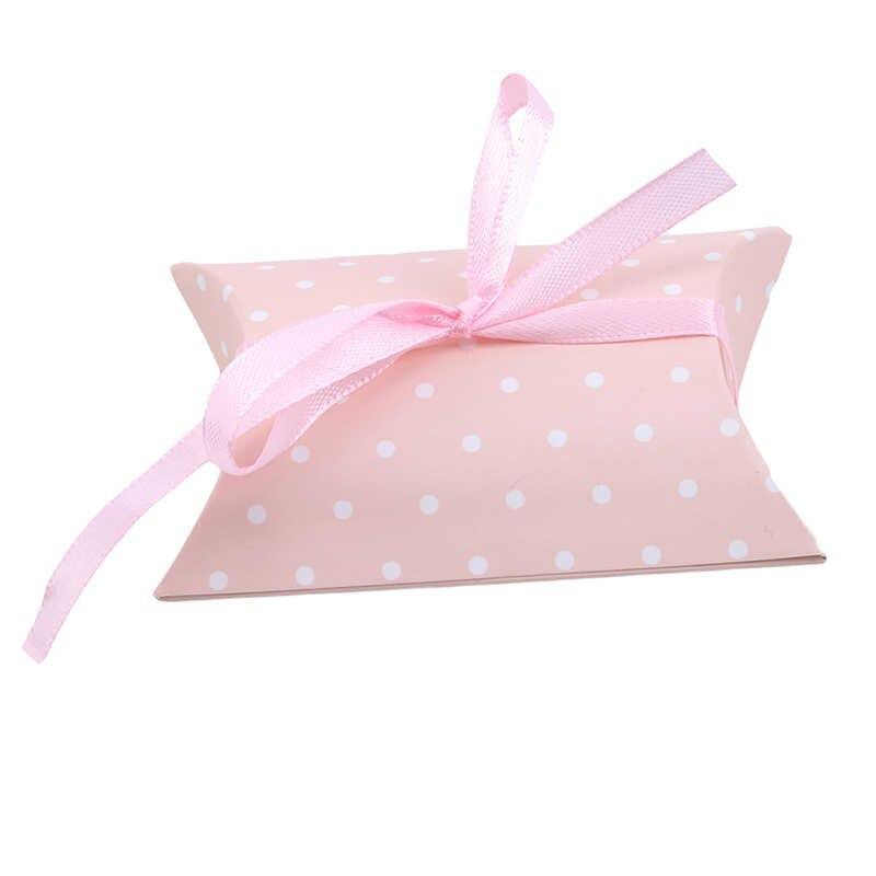 50 шт./упак. печенья посылка инди-поп Подушка с рисунком коробка торт Макарон коробка шоколадный Маффин коробка для печенья выпечки посылка